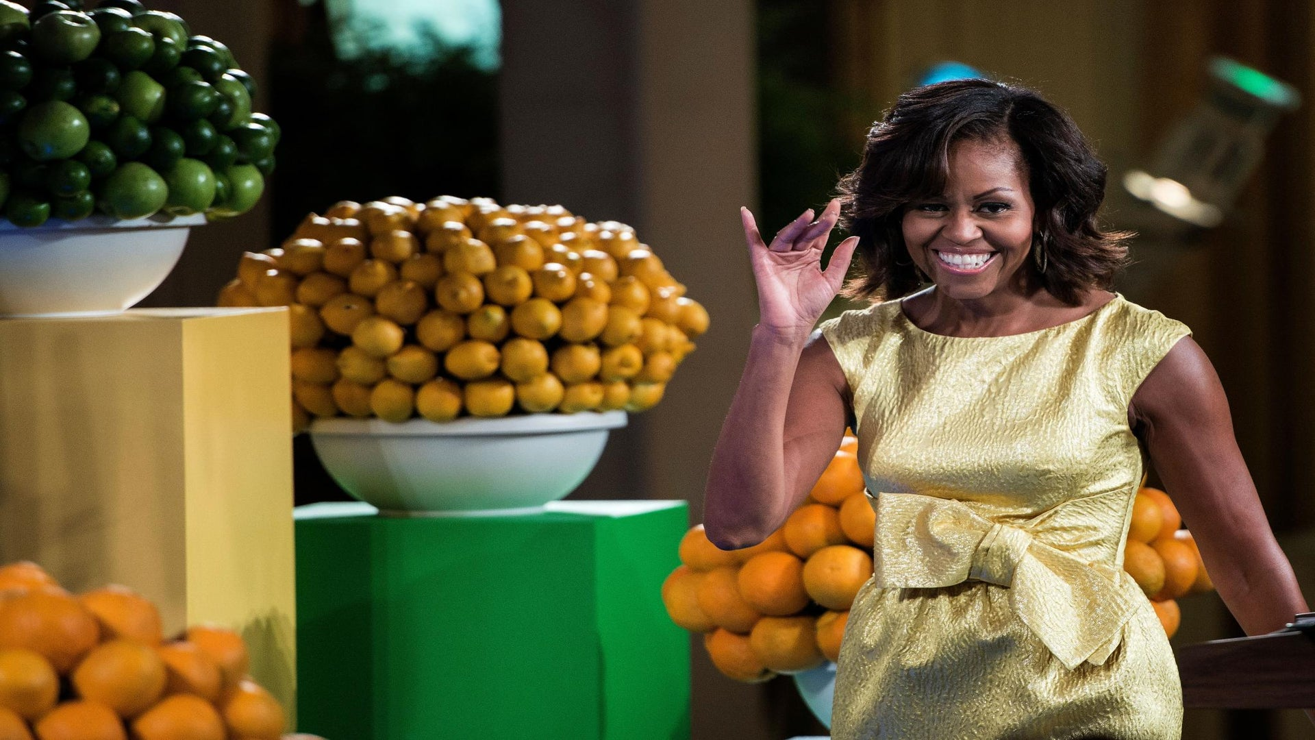 First Lady Michelle Obama Hosts Kids State Dinner