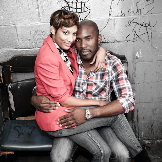 Just Engaged: Octavia and Terrence