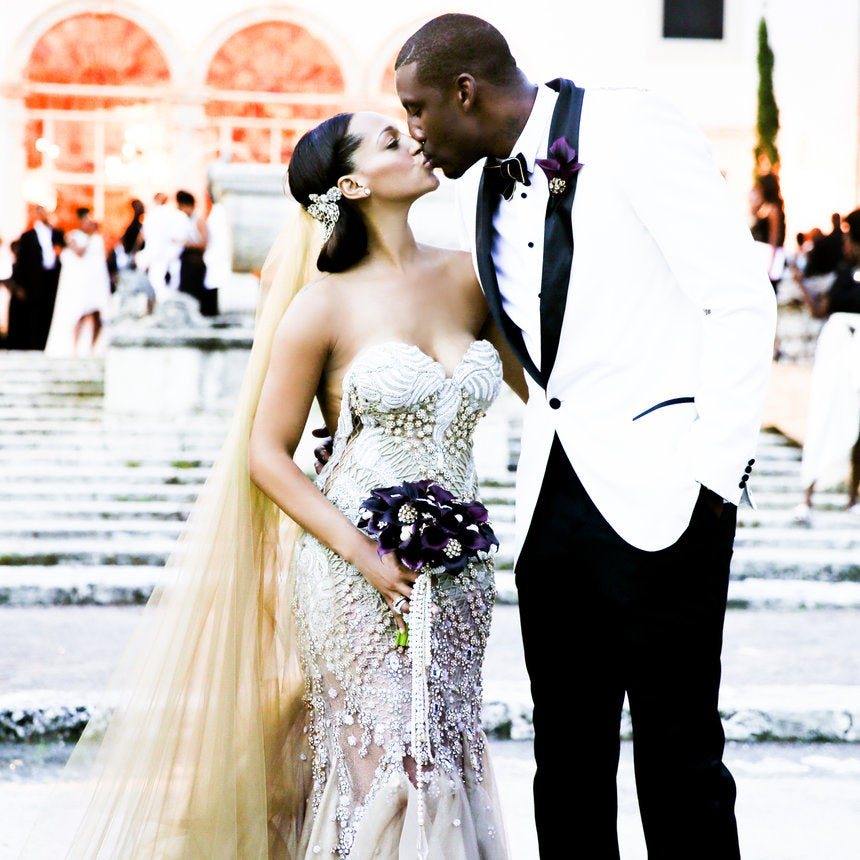 Bridal Bliss Exclusive: Amar'e Stoudemire and Alexis Welch's Wedding Photos