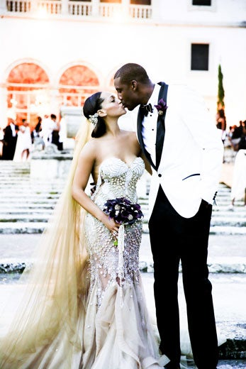 EXCLUSIVE Bridal Bliss: Amar'e Stoudemire and Alexis Welch's Wedding Photos