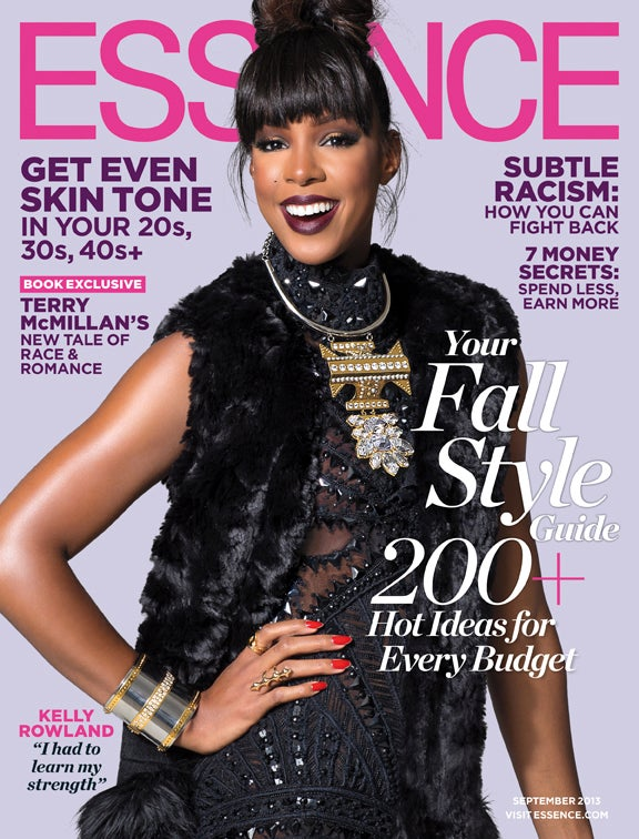 Kelly Rowland Graces the September Issue of ESSENCE