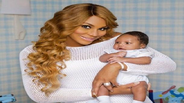 Photo Fab: Tamar Braxton Introduces Baby Logan
