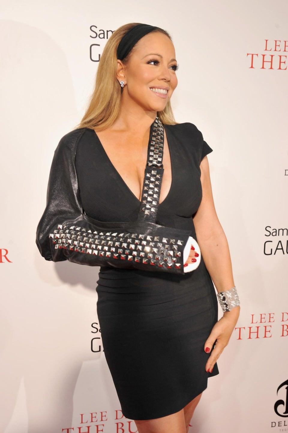 Mariah Carey Blames Shoulder Injury on 'Fatigue'