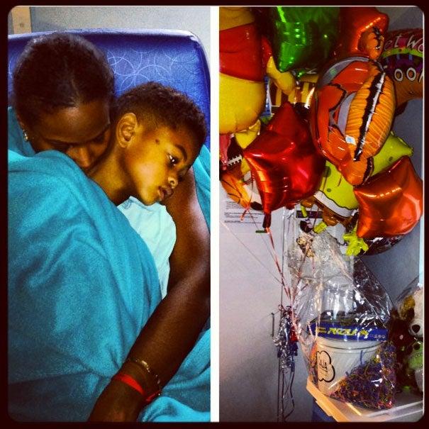 Tameka Raymond Shares First Photo of Usher V