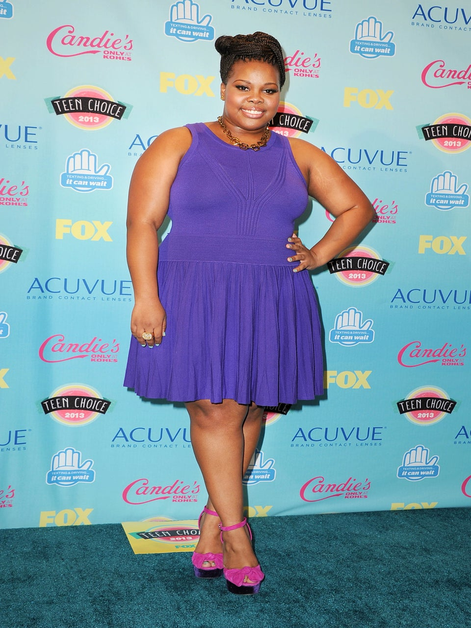 Coffee Talk: Amber Riley Says 'DWTS' Has Taught Her to Push Her Limits
