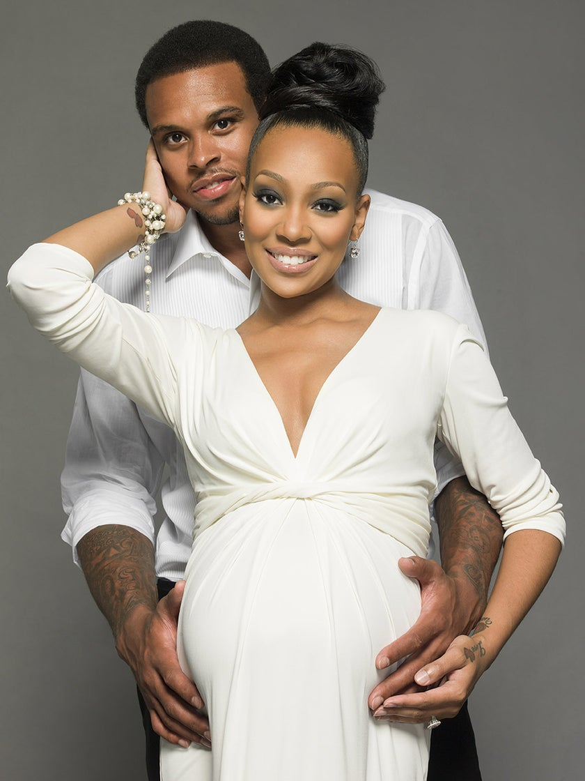 Monica and Shannon Brown Welcome Baby Girl