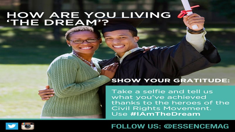 Civil Rights Tribute: Join Our #IAmTheDream Campaign