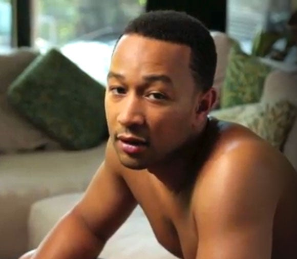 Must-See: John Legend Goes Nude for Funny or Die