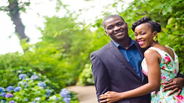 Just Engaged: Olamide and Dotun