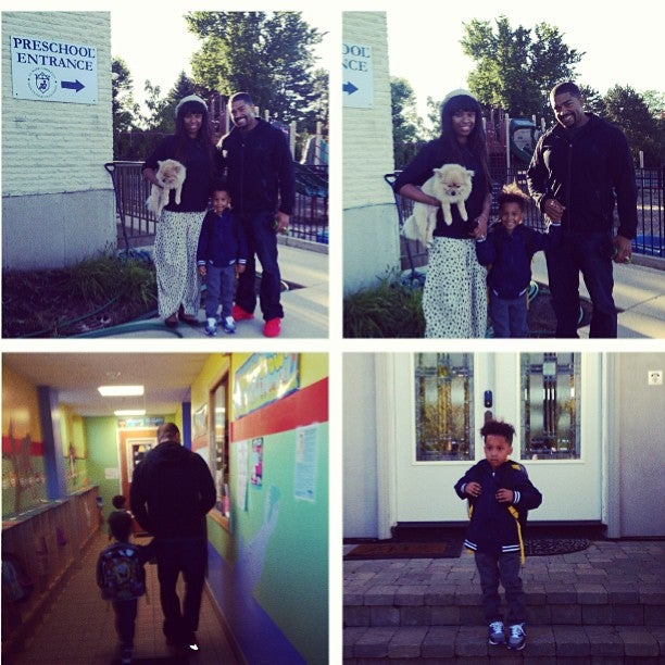 Jennifer Hudson Shares Son's First Day of School