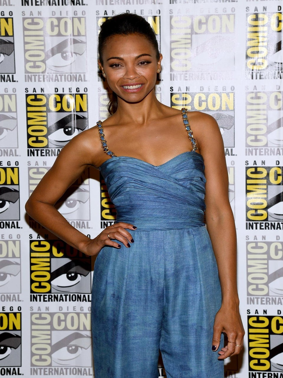 Report: Zoe Saldana Secretly Marries Artist Marco Perego