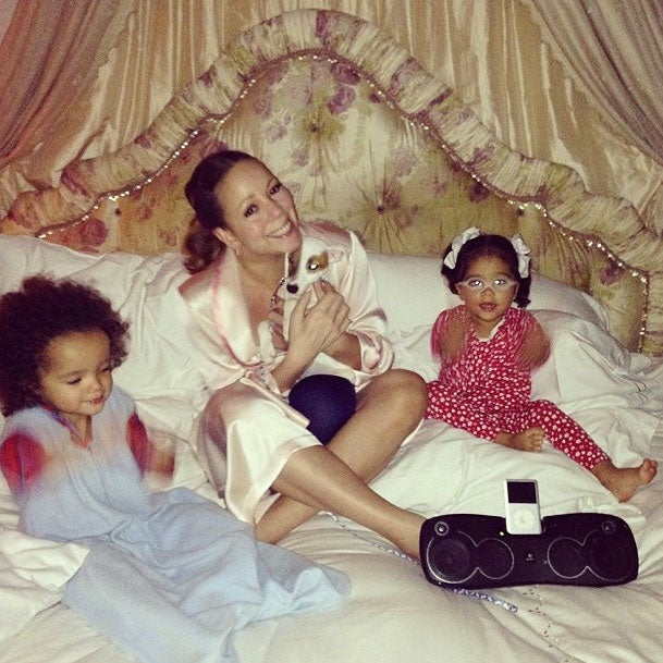 Photo Fab: Mariah Carey Shares Family Time on Instagram
