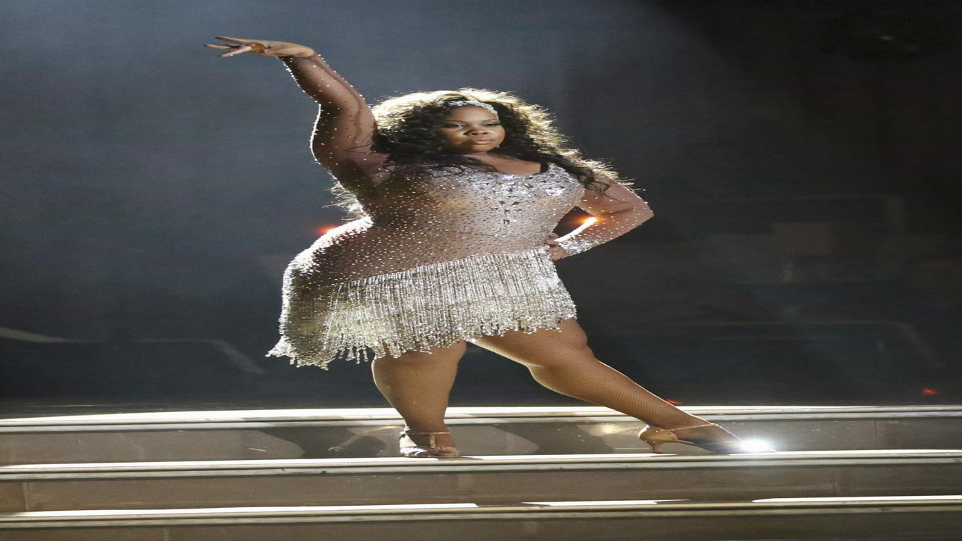 Must-See: Watch Amber Riley's First Dance on 'Dancing with the Stars'