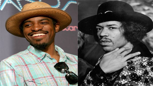 Must-See: Andre 3000 Transforms in Jimi Hendrix Biopic Trailer