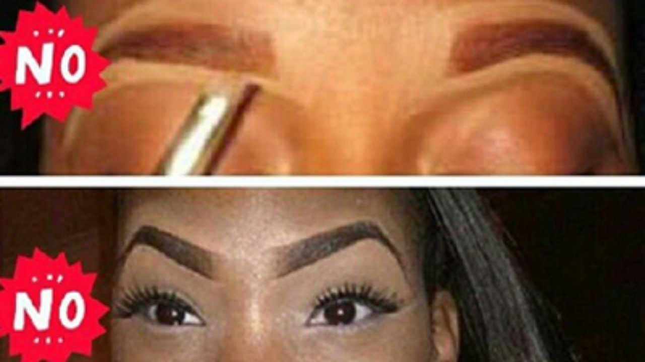 Eyebrow Etiquette for Black Girls