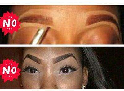 Eyebrow Etiquette for Black Girls
