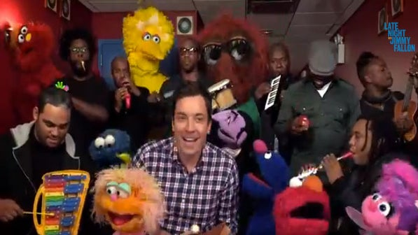 Must-See: The Roots Join Sesame Street Gang to Sing Theme Song