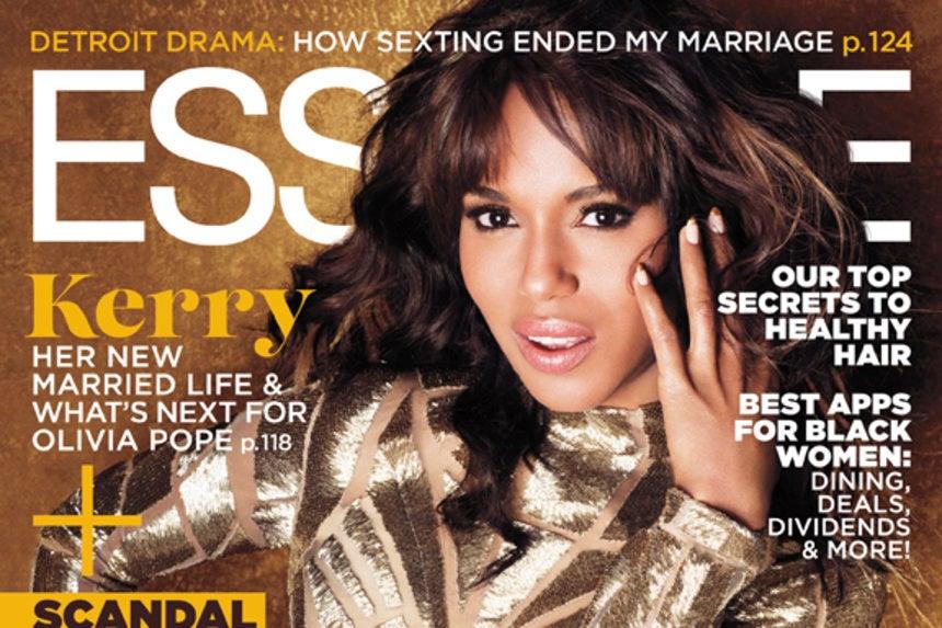 Kerry Washington Shines on November's ESSENCE Cover - Essence