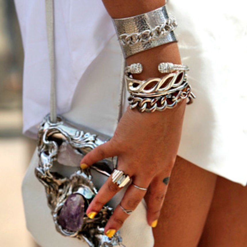Accessories Street Style: Heavy Metal