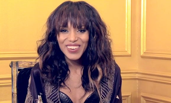 VIDEO: Behind the Cover with Kerry Washington