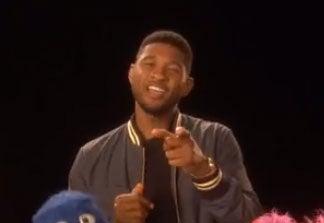 Must-See: Usher Dances Through the Alphabet on 'Sesame Street'