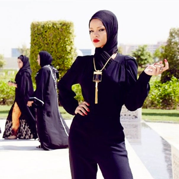 Rihanna Kicked Out of United Arab Emirates Mosque for Photo Shoot