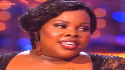 Must-See: Amber Riley Dances the Paso Doble on 'Dancing with the Stars'