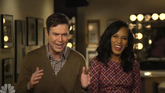 Must-See: Watch Kerry Washington Spoof 'Scandal' in 'SNL' Promo