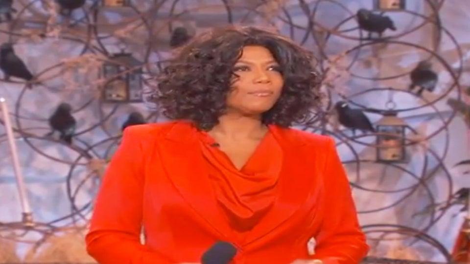 Must-See: Queen Latifah Dresses Up As Oprah, Surprises Audience