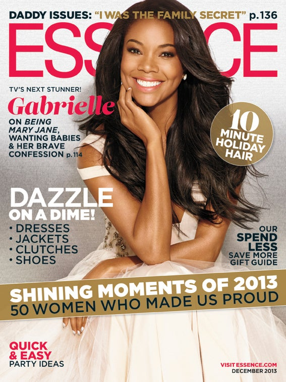 Gabrielle Union Looks Stunning on ESSENCE's December Cover