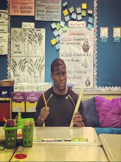 Kevin Hart Donates $250,000 To Philly School District
