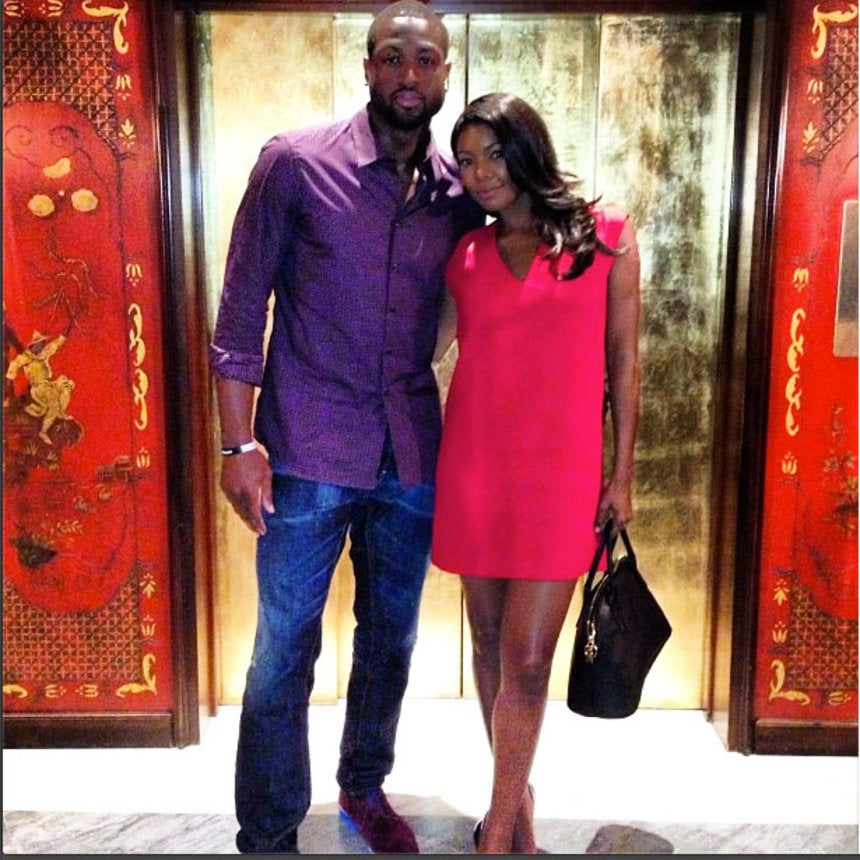 Gabrielle Union and Dwyane Wade's Instagram Love