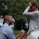 Must-See: Man Surprises Girlfriend With Sweet Proposal at His Graduation Party