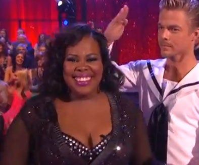 Must-See: Watch Amber Riley Dance the Rumba on 'Dancing with the Stars'