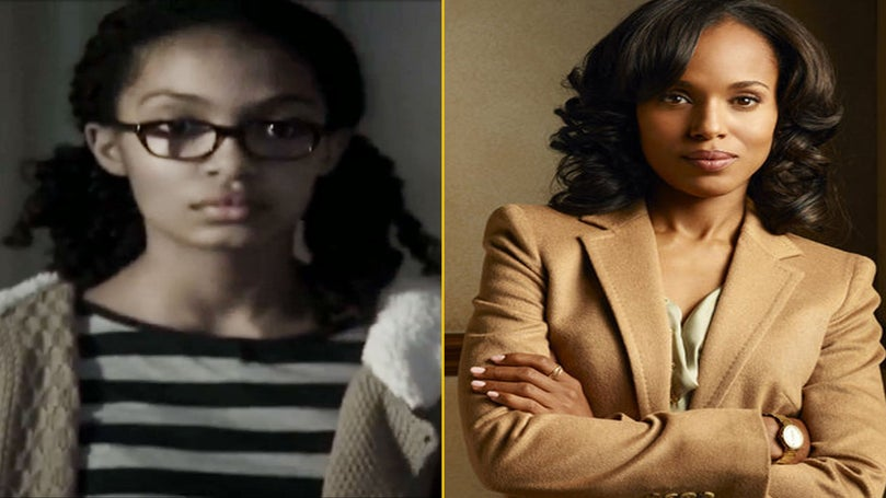 We're Still Smiling About A Young Olivia Pope in Glasses and Pigtails