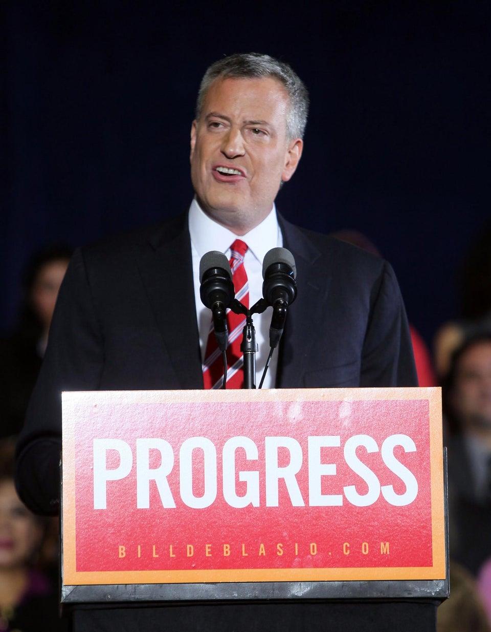 New York City Mayor-Elect Bill de Blasio to Settle Central Park Five Case
