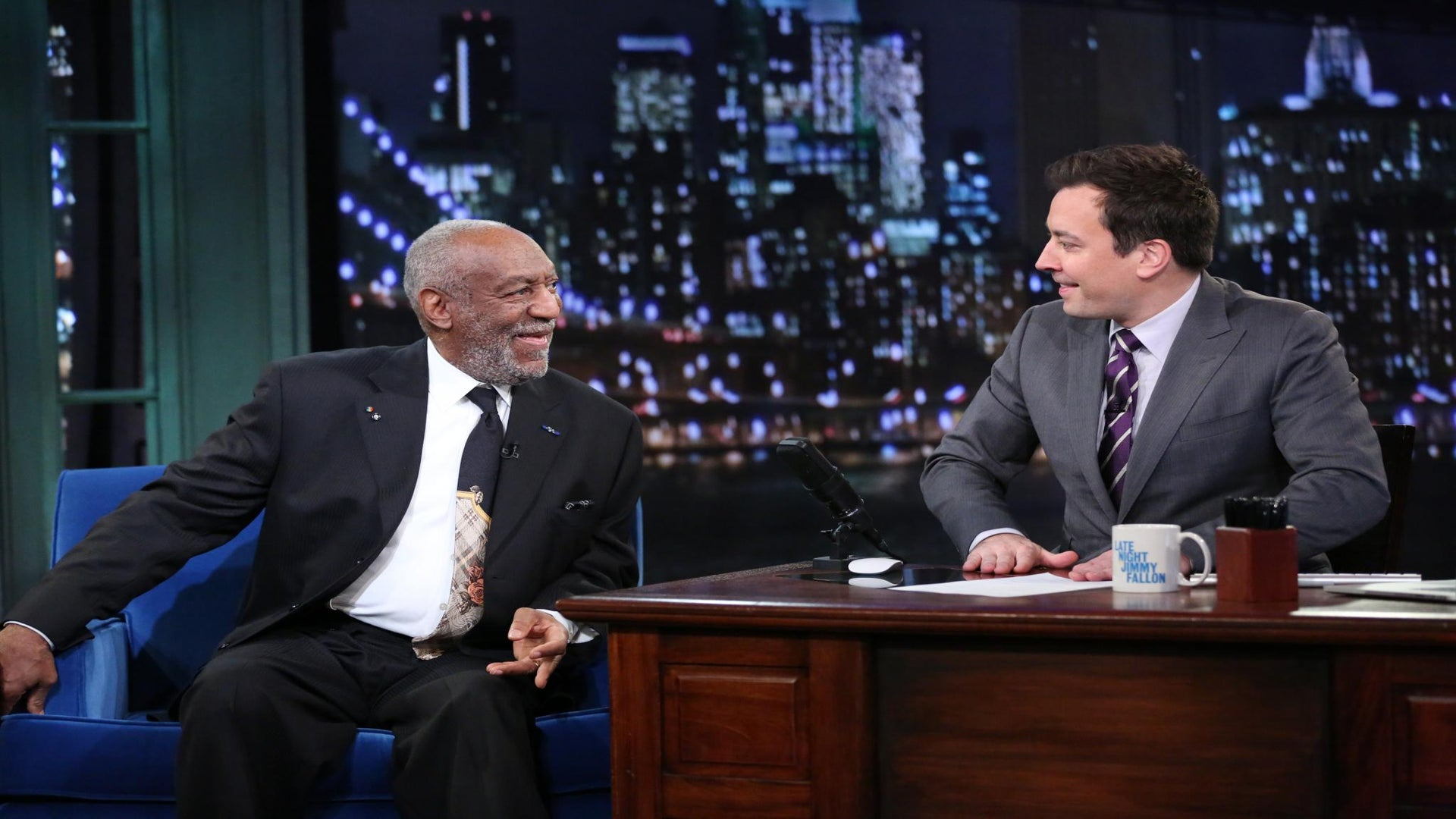 Must-See: Bill Cosby Holds Mock Funeral on 'Fallon'
