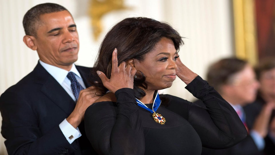Oprah Receives Presidential Medal of Freedom