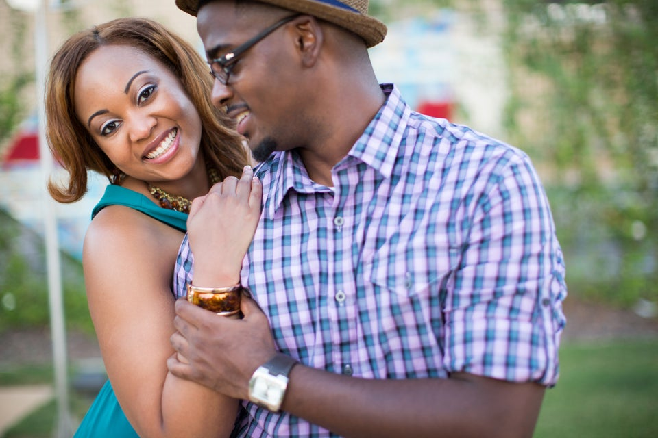 Just Engaged: Alicea and Justin