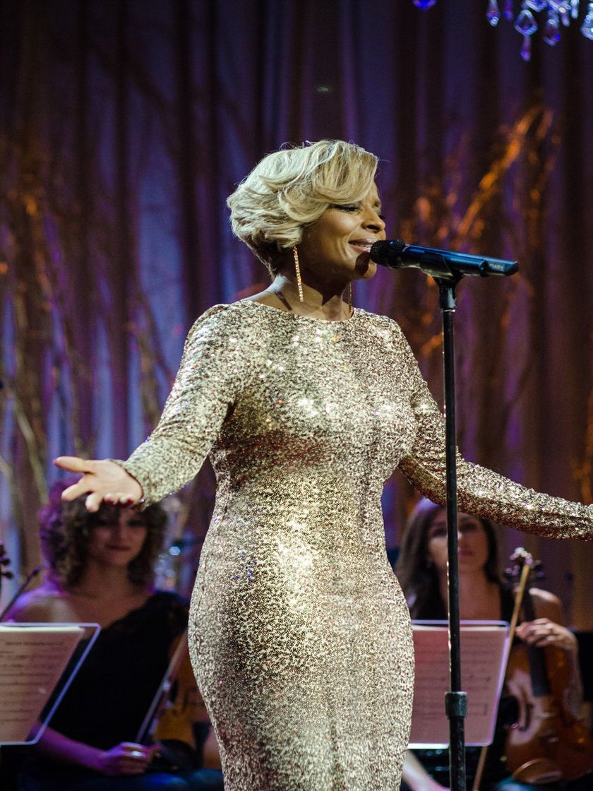 Mary J. Blige to Give Encore Performance of National Anthem