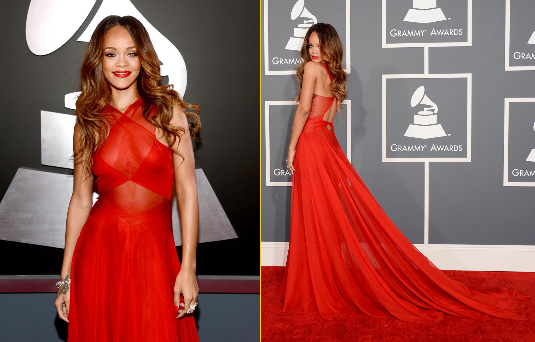 Grammys: Rihanna's Best Fashion Moments