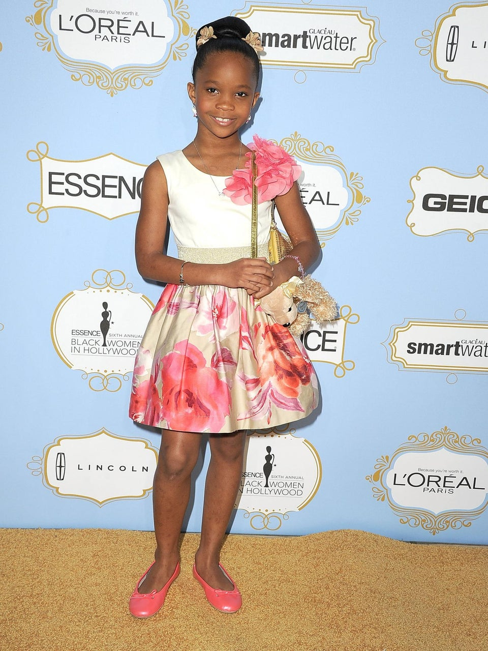 Quvenzhane Wallis to Earn Reported $1.5 Million for 'Annie'