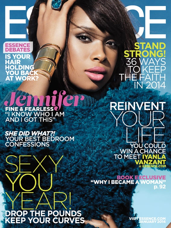 Jennifer Hudson Looks Stunning on ESSENCE's January 2014 Cover
