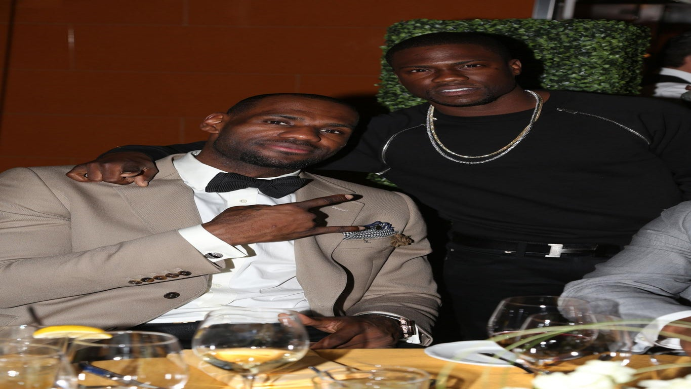 Kevin Hart and LeBron James to Star in New Comedy
