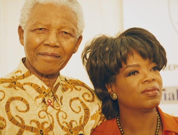 Oprah Reflects on the 'Grace and Majesty' of Nelson Mandela