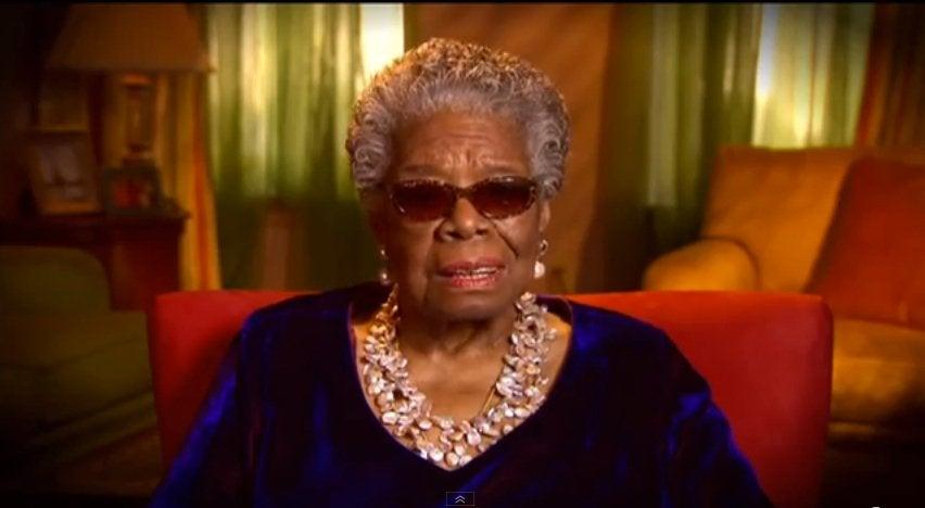 Must-See: Watch Maya Angelou's Tribute Poem For Mandela