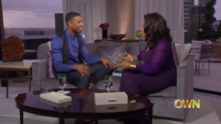 EXCLUSIVE: Michael B. Jordan Talks Dating on 'Oprah's Next Chapter'