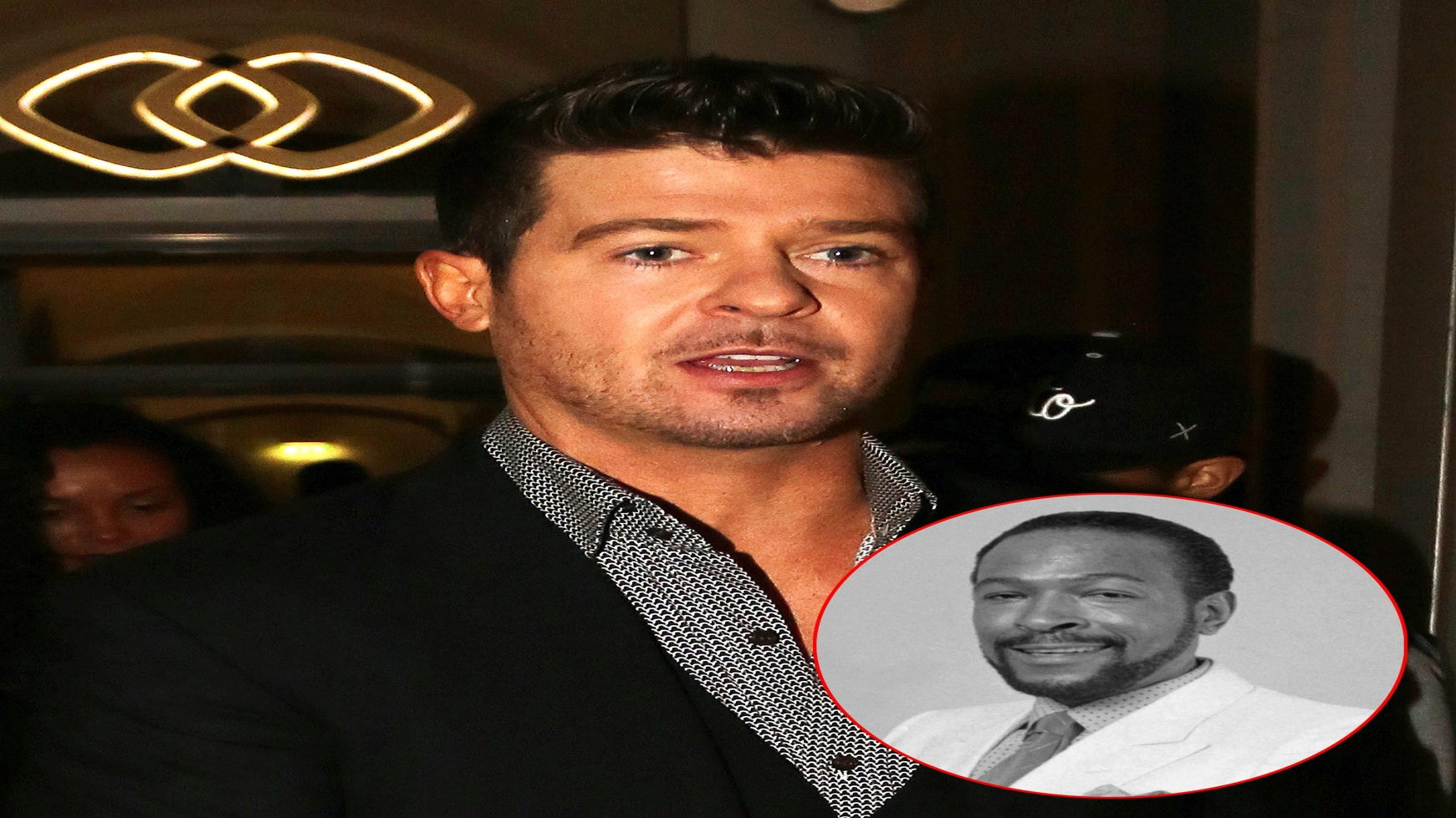 Coffee Talk: Marvin Gaye's Family and Robin Thicke's Label Settle 'Blurred Lines' Case