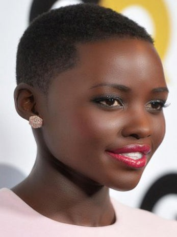 "Coffee Talk: Kenyan President Calls Oscar-Winning Beauty Lupita Nyong'o ""Pride of Africa"""