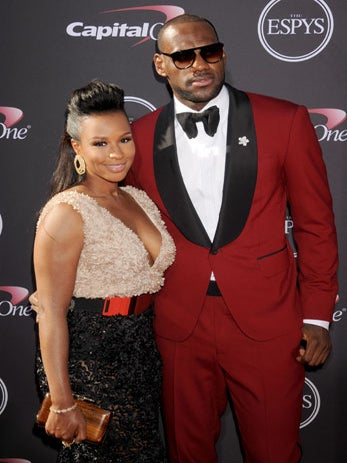 How LeBron James Showered Wife Savannah With Love On Her ...